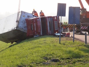 truck accident recovery