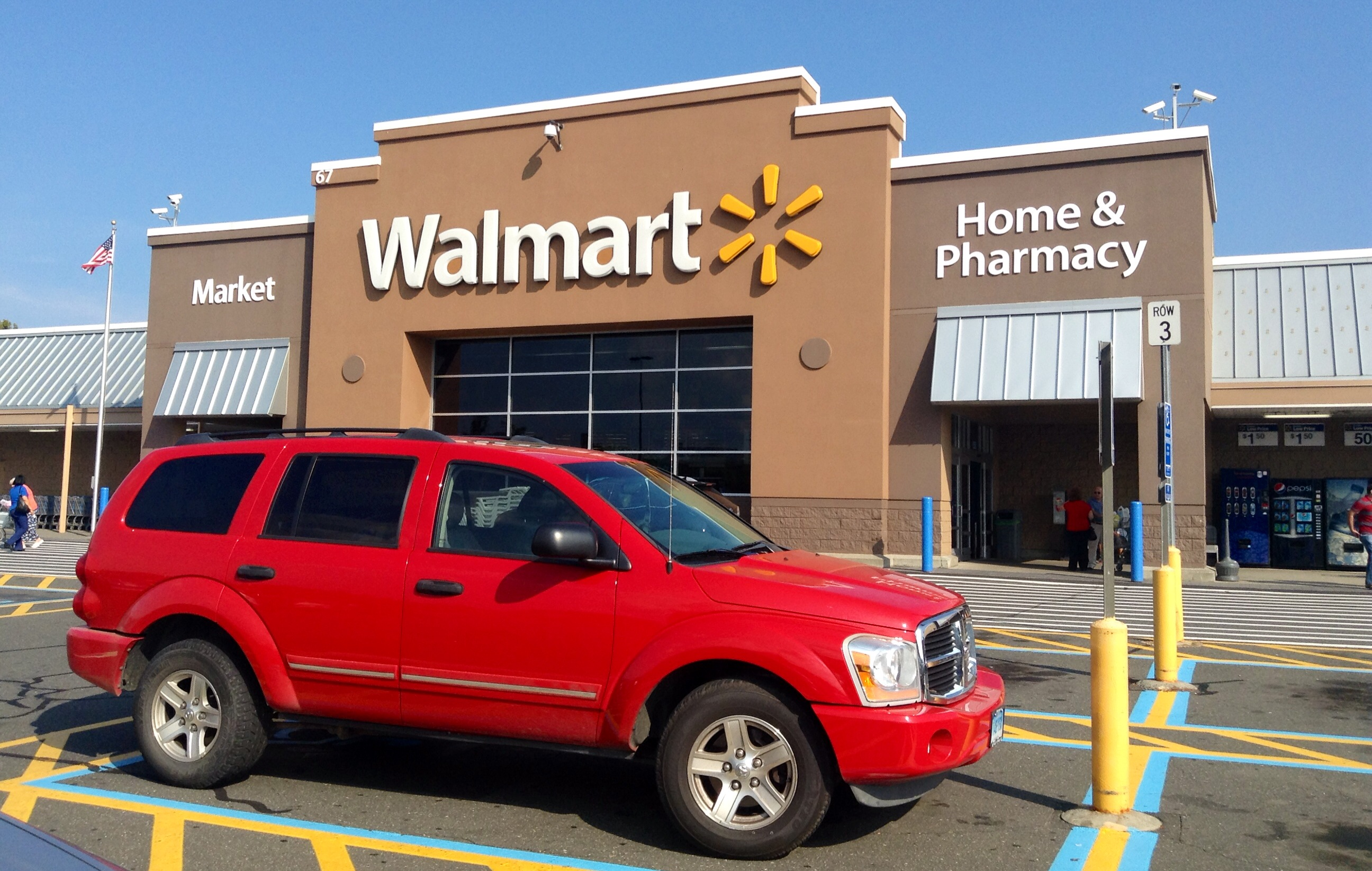 mississippi walmart and red suv